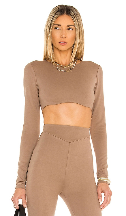 x REVOLVE Ellis Crop Top Michael Costello $140 NEW