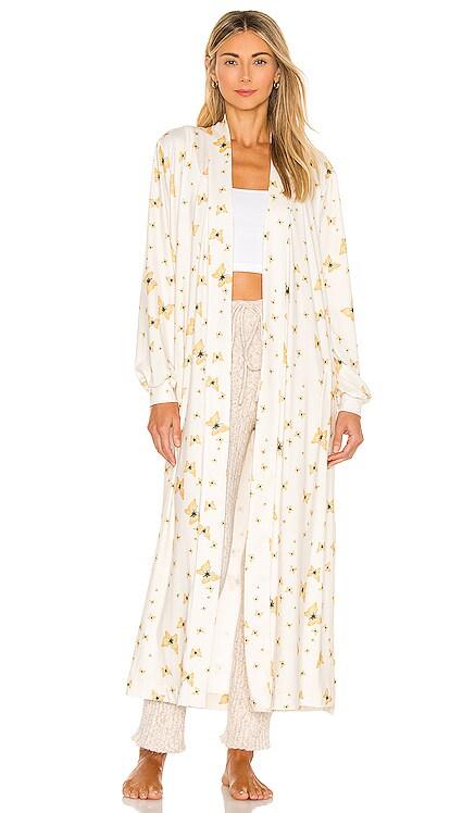 Banded Long Robe MASONgrey $128