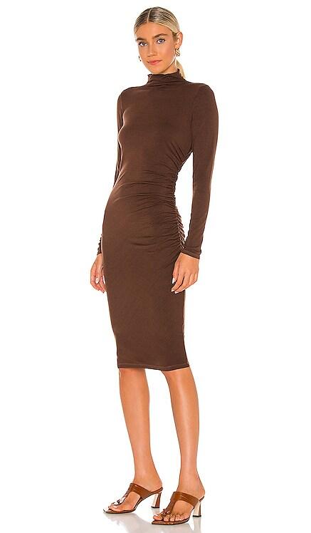Mock Neck Midi Dress Michael Stars $128