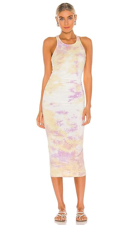 x REVOLVE Tie Dye Midi Dress Michael Stars $118 NEW