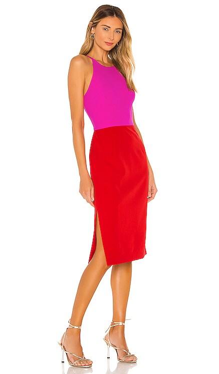 Cady Layla Combo Dress MILLY $325