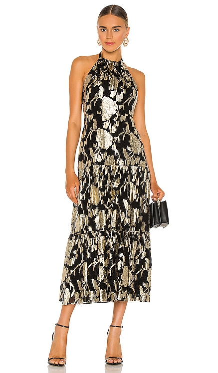 Hayden Metallic Dress MILLY $395 NEW