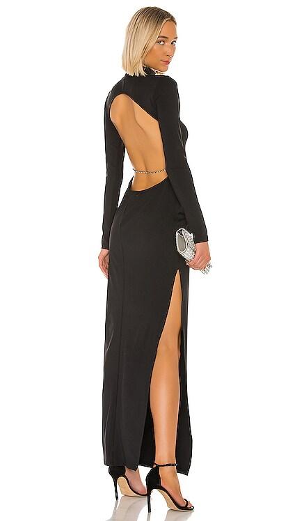 X REVOLVE Backless Crystal Dress Michael Lo Sordo $395