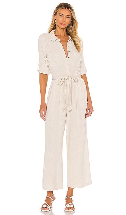 Linen Boiler Suit MINKPINK $119