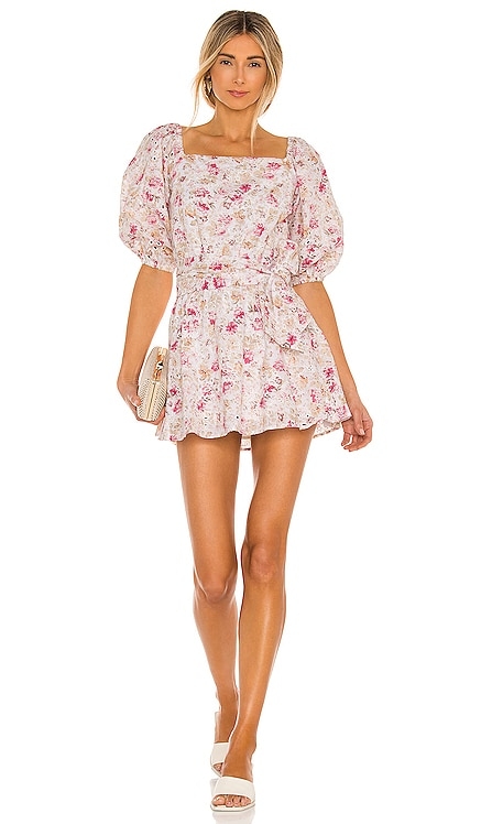 Cecile Off Shoulder Mini Dress MINKPINK $119 NEW