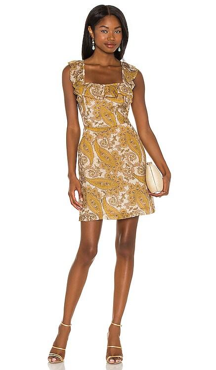 Sistan Frill Mini Dress MINKPINK $99 NEW
