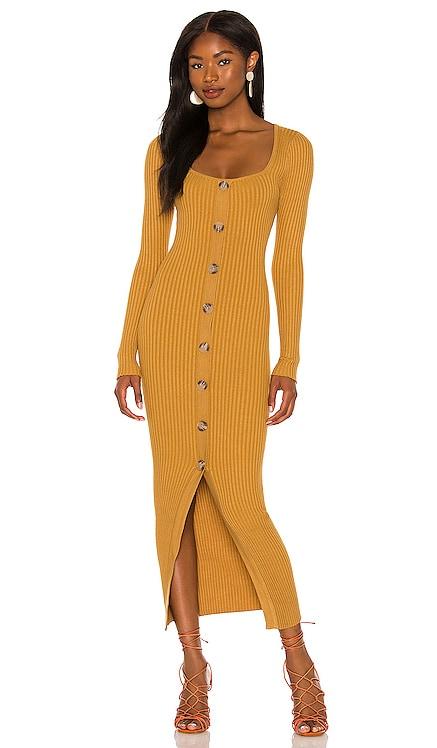 Phrada Button Midi Dress MINKPINK $109