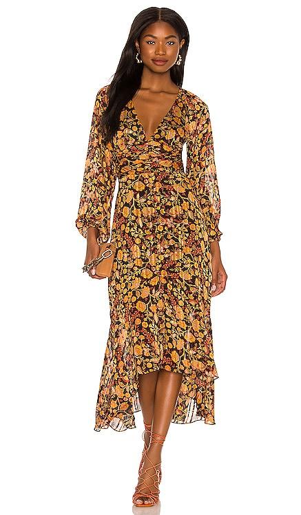 Feeling Bold Hi Low Midi Dress MINKPINK $139 NEW