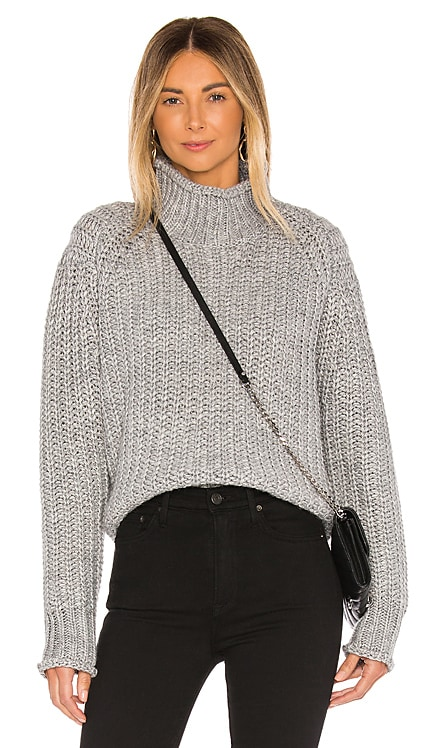 Stevie High Neck Knit Sweater MINKPINK $71