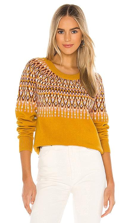 Lean On Fairisle Sweater MINKPINK $40