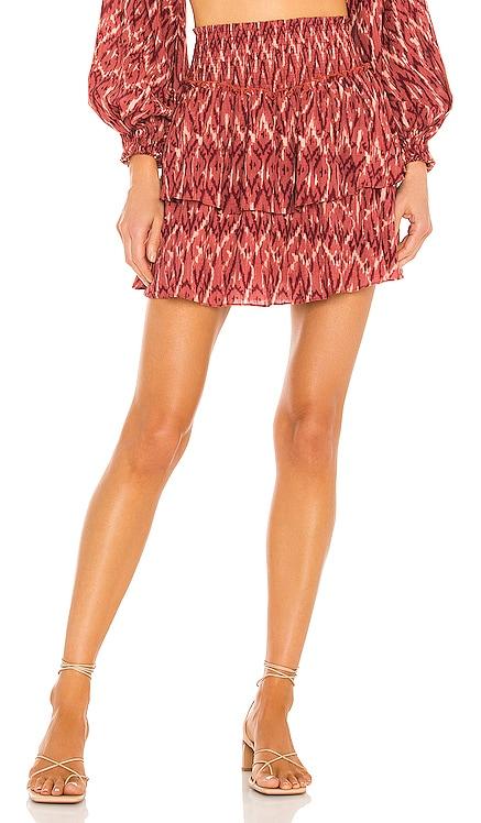 Neiki Tiered Mini Skirt MINKPINK $99