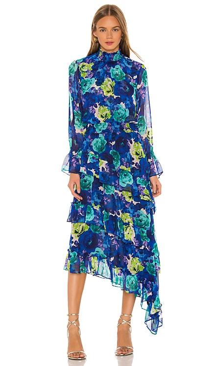Rania Midi Dress MISA Los Angeles $365