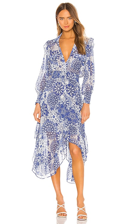 X REVOLVE Kaiya Dress MISA Los Angeles $356 BEST SELLER