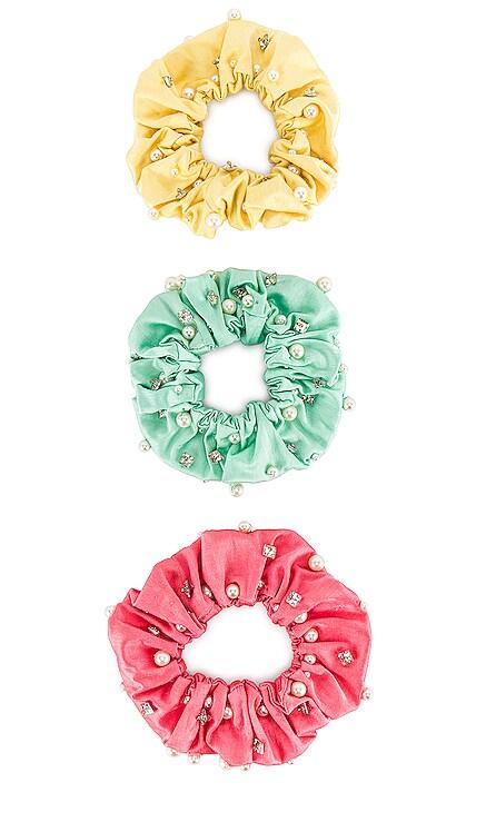 Miami Scrunchie Set Maryjane Claverol $108