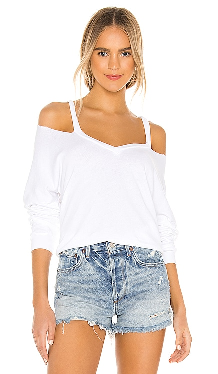 Swanson V-Neck Top Michael Lauren $110 BEST SELLER