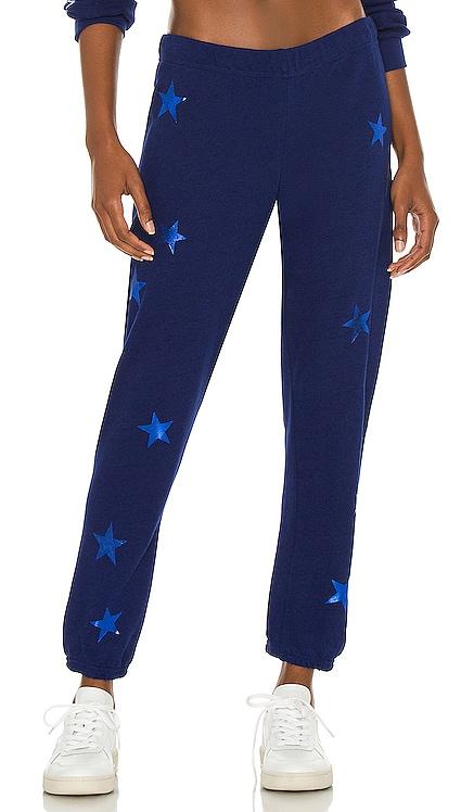 Star Foil Nate Crop Sweatpants Michael Lauren $110