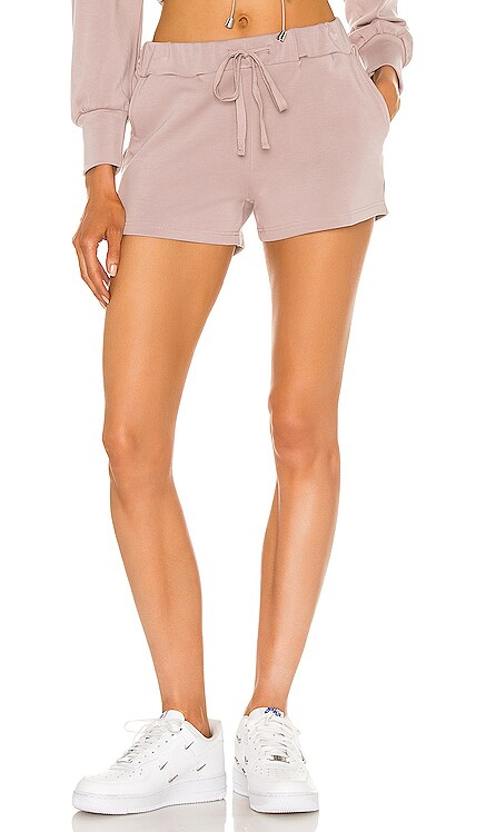 Branded Brushed Knit Shorts Mina Lisa $29