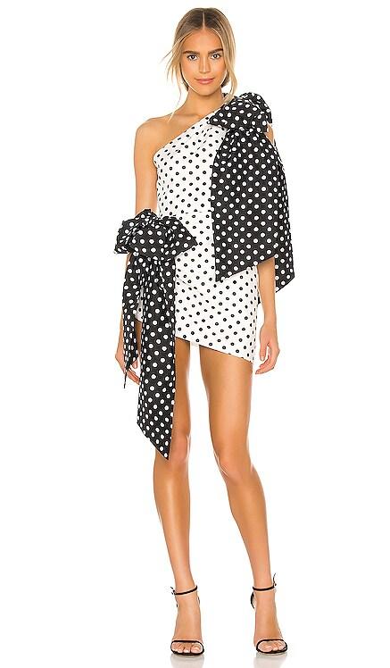 Double Bow Marilyn Mini Dress MARIANNA SENCHINA $498
