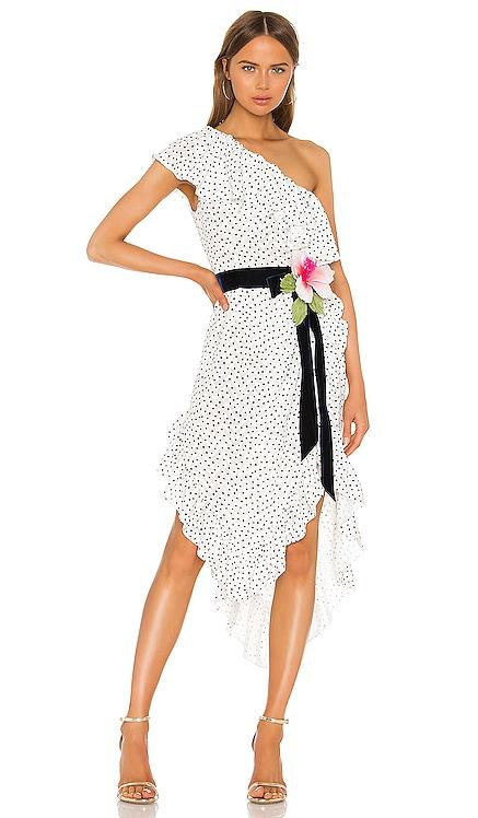 One Shoulder Dress MARIANNA SENCHINA $375