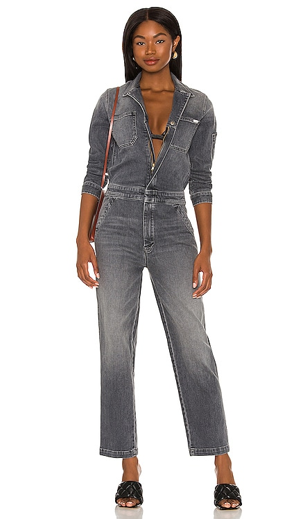 The Half Spring Take Off Ankle Jumpsuit MOTHER $428