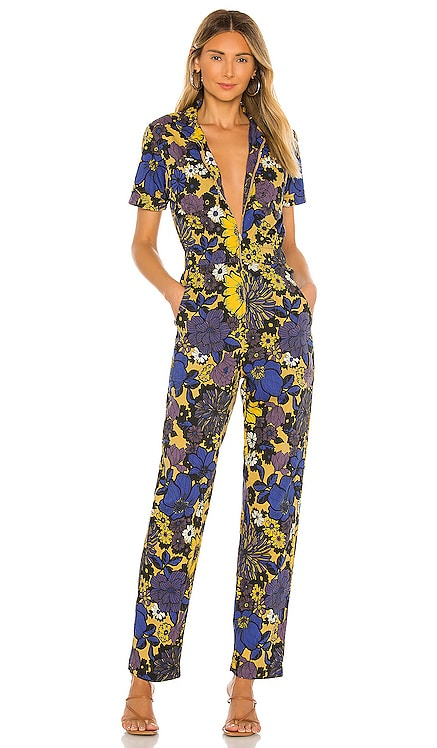 The Zippy Ankle Jumpsuit MOTHER $308