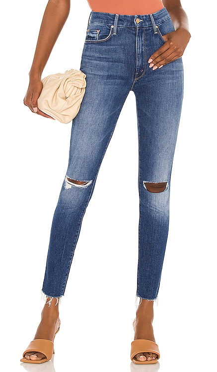 High Waisted Looker Ankle Fray MOTHER $238 BEST SELLER