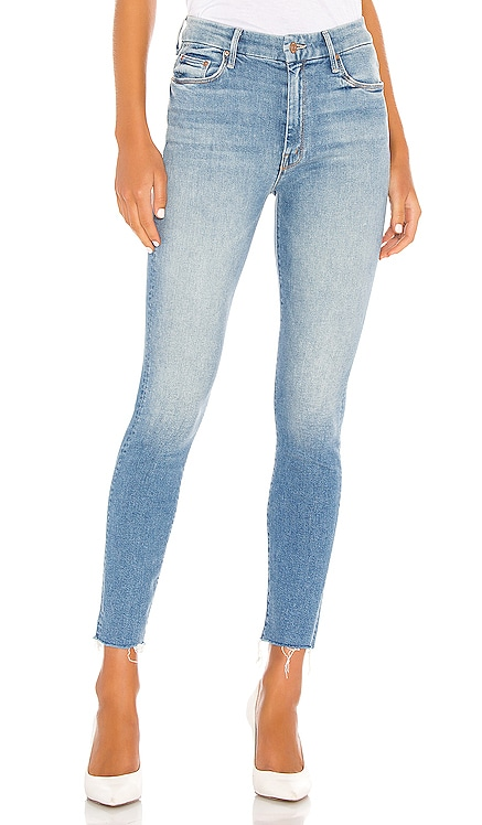 High Waisted Looker Ankle Fray MOTHER $228 BEST SELLER