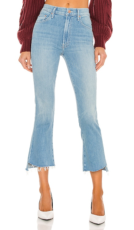 The Insider Crop Step Fray MOTHER $218 NEW