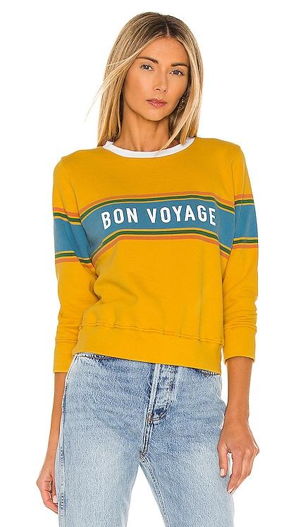The 3/4 Sleeve Koozie Sweatshirt MOTHER $135