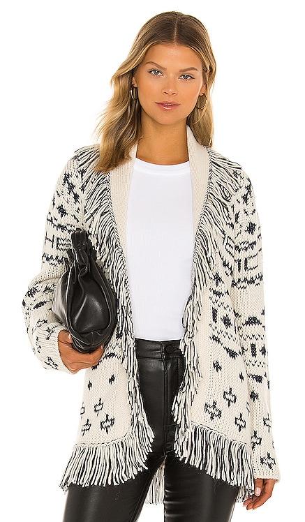 The Belted Short Cardigan MOTHER $398 BEST SELLER