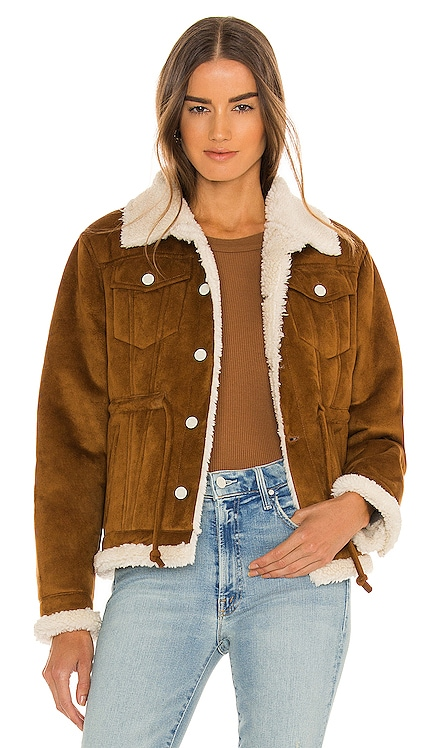 The Drawstring Drifter Jacket MOTHER $395 NEW