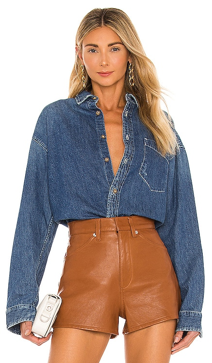 The Overshirt MOTHER $285 NEW