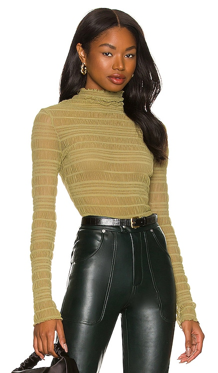 Sadie Ruched Top MORE TO COME $50 NEW