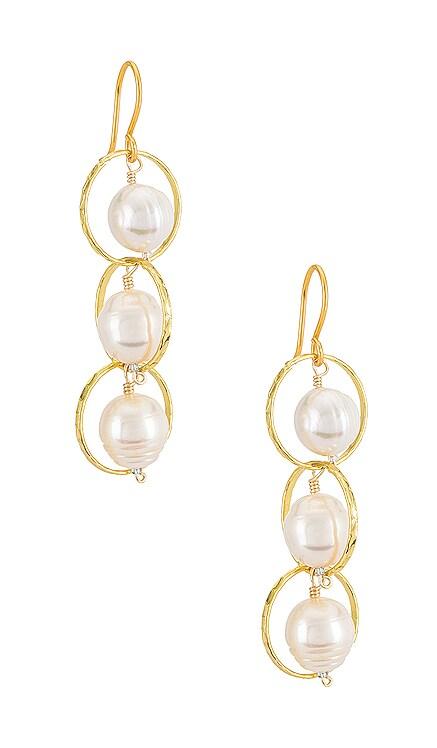 Tres Vidas Earrings Mercedes Salazar $40