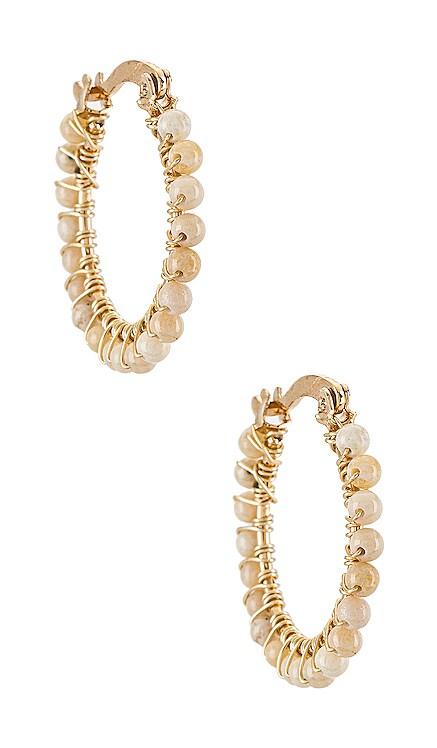 Florecitas Hoop Earrings Mercedes Salazar $26