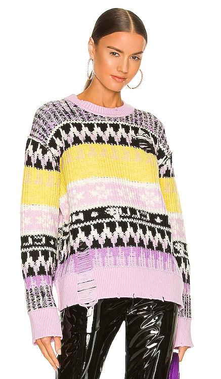 Distressed Sweater MSGM $575 NEW