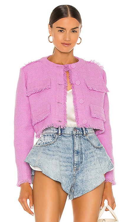 Cotton Tweed Jacket MSGM $520