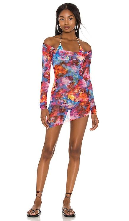 Yanis Mini Mesh Dress Melissa Simone $150 Sustainable