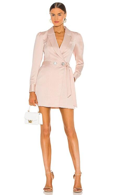 Asher Satin Crepe Blazer Dress Marissa Webb $475 NEW