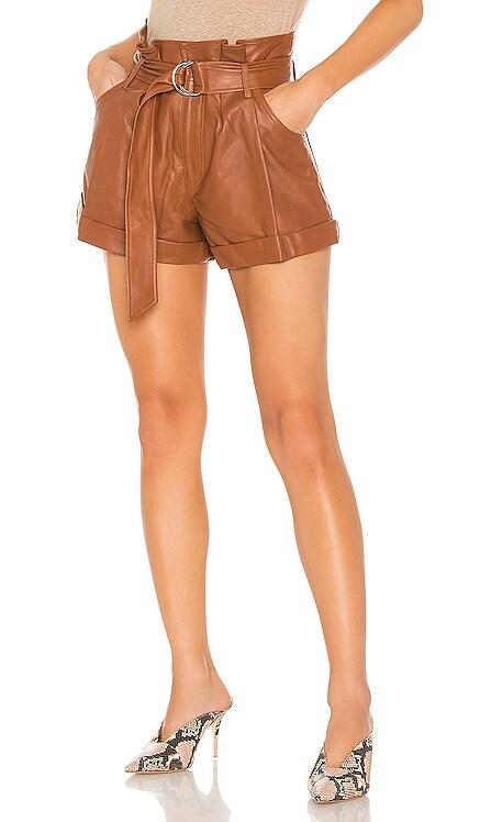 Dixon Leather Paper Bag Short Marissa Webb $425