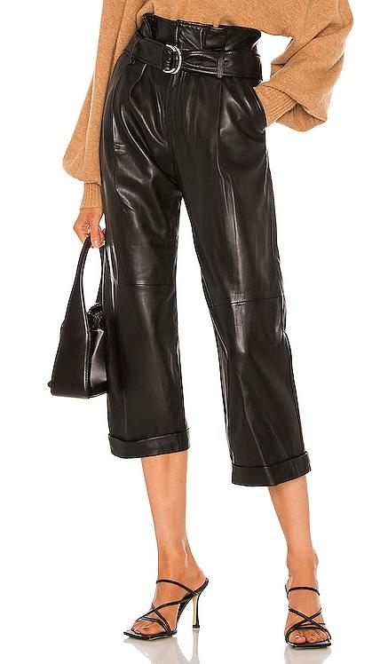 Dixon Leather Cropped Pant Marissa Webb $698
