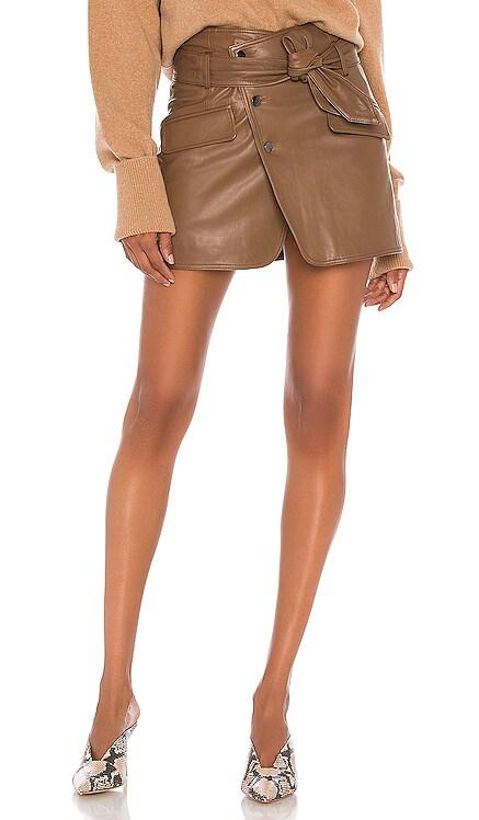 Katrina Leather Skirt Marissa Webb $425 NEW