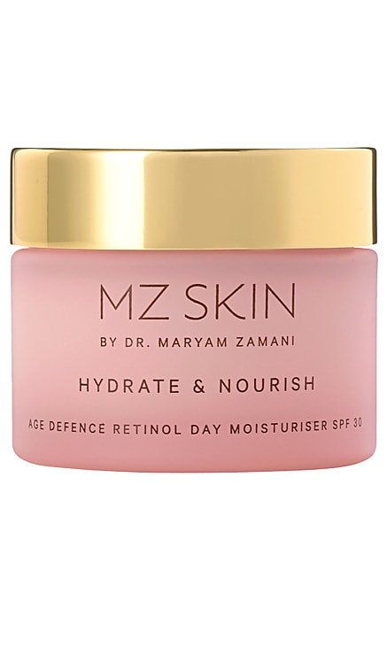 Hydrate & Nourish Age Defence Retinol Day Moisturiser SPF 30 MZ Skin $143