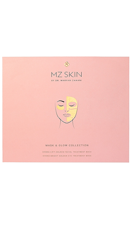 COLLECTION DE MASQUES GLOW BOOST MZ Skin $52