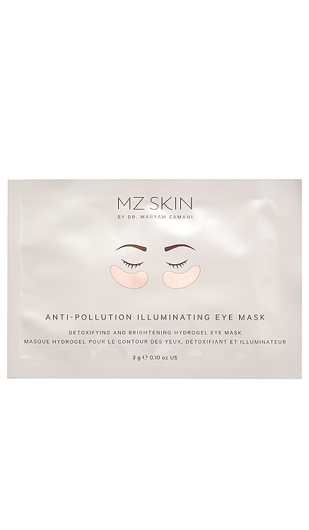 Anti-Pollution Illuminating Eye Masks 5 Pack MZ Skin $106