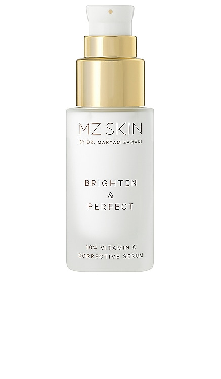 Brighten & Perfect 10% Vitamin C Corrective Serum MZ Skin $390