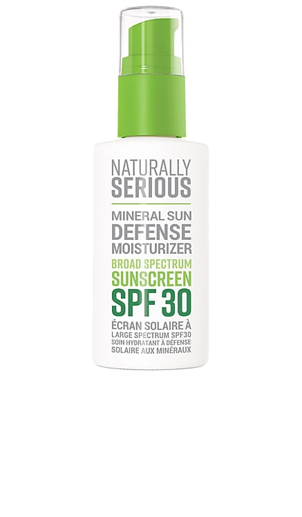 СОЛНЦЕЗАЩИТНЫЙ КРЕМ MINERAL SUN DEFENSE Naturally Serious $34