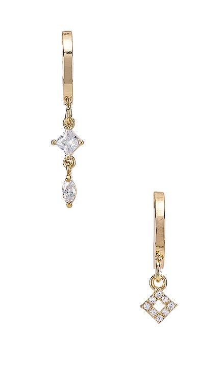 Starlight Mismatched Mini Hoops Natalie B Jewelry $33 BEST SELLER