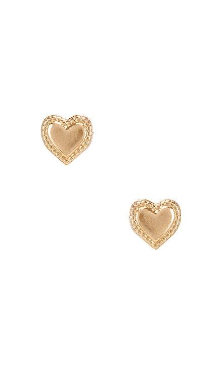 Heart Studs Natalie B Jewelry $29 BEST SELLER