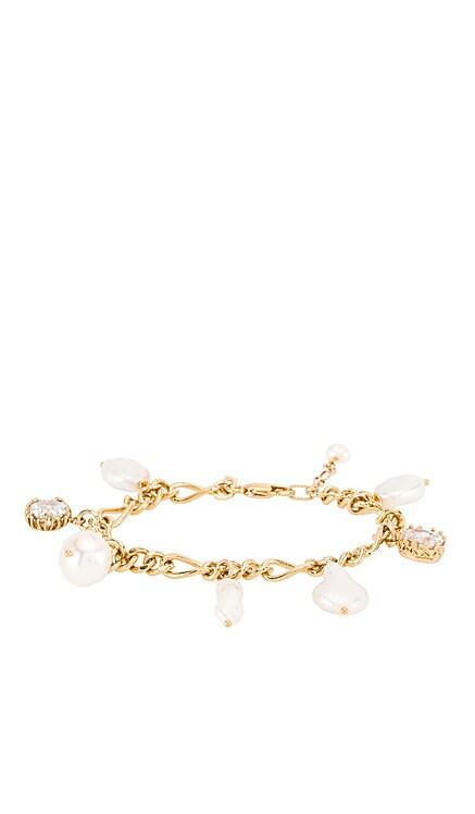 PEARLS OF CHARM チャームブレスレット Natalie B Jewelry $42